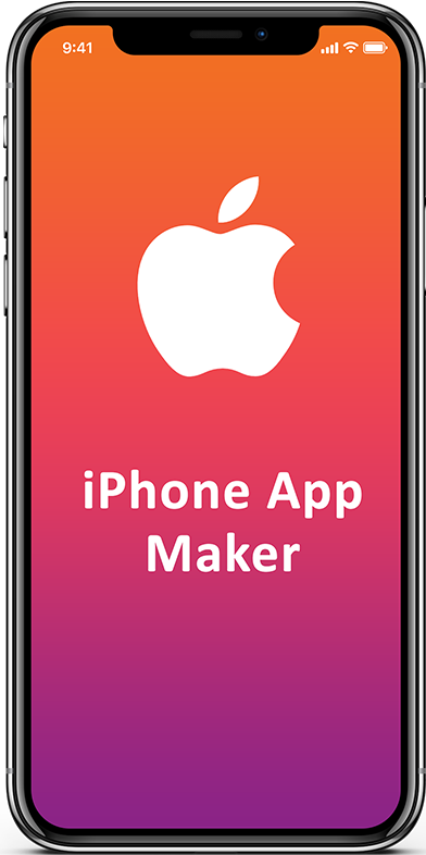 How to make an iphone app, iPhone app maker to create iOS app